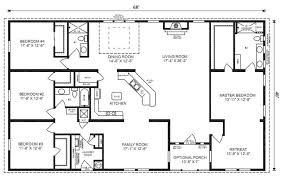 Four Bedroom Bungalow Floor Plan Four Bedroom House Plans Jurgennation Com