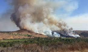 Wildfire Country Club Canada by Trabuco Fire Caused By Golfer U0027s Club Striking Rock U2013 Wildfire Today