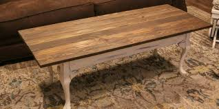 Unique Rustic Coffee Tables Rustic Coffee Table Makeover The Abode