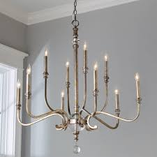Silver Chandelier Classic Traditions Chandelier Large Shades Of Light