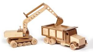 Plans For Wood Toy Trucks by Best Selling Construction Toy Plans From Wood Store