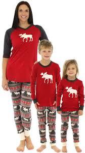 matching family pajamas blue snowflakes footed pajamas