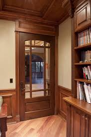 custom glass interior doors interior door custom single solid wood with walnut finish