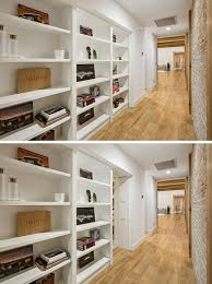 Secret Door Bookcase There U0027s A Secret Door In This Hallway Can You See It Contemporist