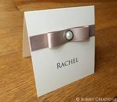 Regency Wedding Invitations Regency Wedding Invitation With Satin Ribbon And A Pearl