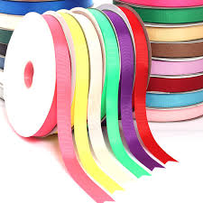 fabric ribbon high quality 20mm 100yard grosgrain ribbon for crafts bows diy