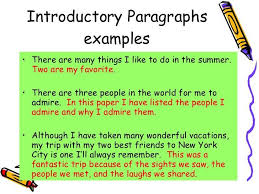 introductory paragraph example introductory paragraphs