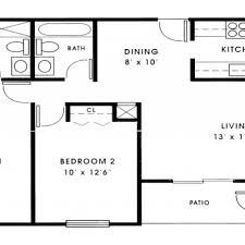 small 2 bedroom floor plans small house plans 1000 sq ft with garage 2017 for small