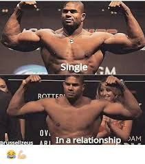 Gym Relationship Memes - single amma rottf ovi arussellzeus ari in a relationship dam