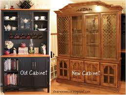 Kitchen China Cabinet Hutch China Cabinet Turned Farmhouse Style Pantry