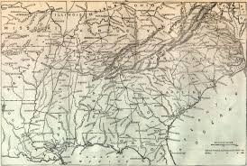 Map Of Southern States War Battle Map