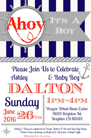 it s a boy baby shower ideas ahoy it s a boy nautical baby shower orientaltrading we got