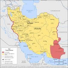 Tehran Map Smartraveller Gov Au Iran