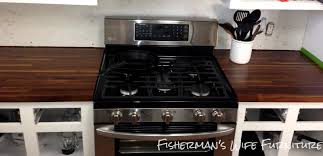 decor walnut butcher block with stove and white wall for kitchen dazzling walnut butcher block for kitchen furniture ideas walnut butcher block with stove and white