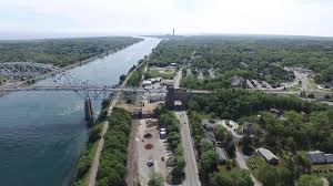 sagamore bridge cape cod canal dji inspire 1 drone youtube