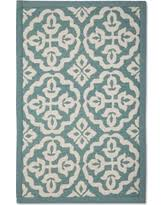 spooktacular savings on naples floral rug threshold blue