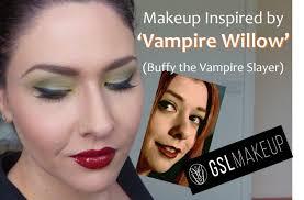 makeup inspired by vampire willow buffy the vampire slayer youtube