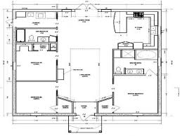 modern floor plans for new homes small 1000 square foot modern house plans modern house plan