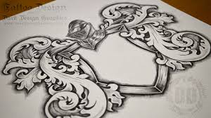 coat of arms tattoo template available for download youtube