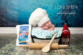ready to ship baby pastry chef hat 0 3m crochet newborn boy