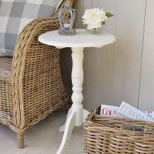 french style side table french style round pedestal table ivory baskets pinterest