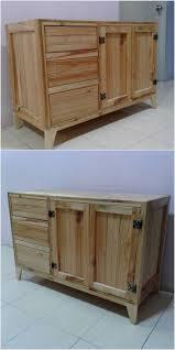top 25 best pallet cabinet ideas on pinterest pallet kitchen