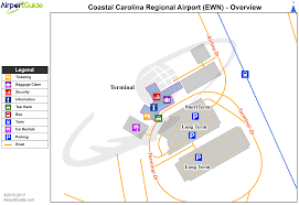 Atlanta Airport Gate Map by New Bern Coastal Carolina Regional Ewn Airport Terminal Maps