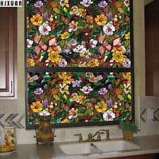 Window Decor Film Bathroom Frosted Decor Window Privacy Film Papers 80x100cm 3d Cam