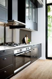 kitchen design alluring matte black kitchen grey white kitchen