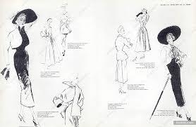 lignes et principes de la mode 1949 jean dessès u0026 marcel rochas