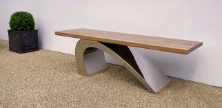 Design Garden Furniture Uk by Contemporary Garden Benches 23 Trendy Furniture With Designer