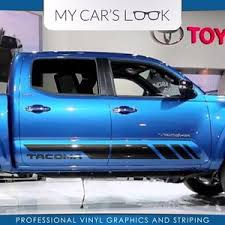 toyota tacoma 2016 pictures toyota tacoma 2016 trd sport side stripe graphics decal ebay