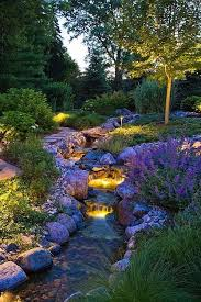 Images Of Backyard Landscaping Ideas Best 25 Garden Stream Ideas On Pinterest Modern Pond Small