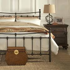 king iron bed frame good style iron bed frames king king metal bed