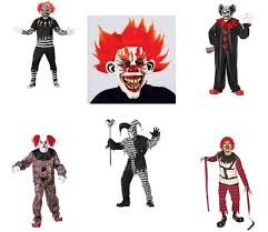 scary clown halloween costumes for men halloween costumes