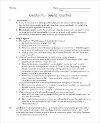 8 graduation speech exles sles