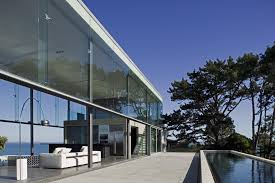 Glass And Concrete House 29 Wood Steel Concrete Glass Home Disappears Landscape E2 80 93
