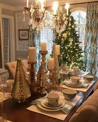 how to decorate a dining table adorable dining table christmas decorating ideas liming