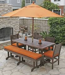 Backyard Furniture Set by Patio Furniture Dining Sets For Existing Residence Daily Knight