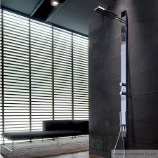 acquatonica multi function built in shower panel acquatonica