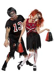 Zombie Halloween Costumes Zombie Cheerleader Costume