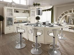 Round Kitchen Islands Curved Kitchen Island Zamp Co