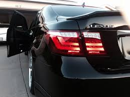 lexus lf lc tail lights avest specd ls460 led tail lights clublexus lexus forum discussion