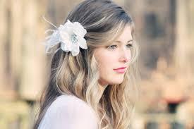 flower for hair bridal hair flower fascinator white bridal hair clip wedding