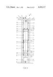 Overhead Door 65b patente us4303117 vertically collapsing closure system google