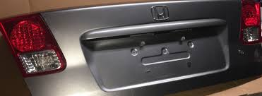 2005 honda civic trunk 2004 2005 honda civic trunk lid silver metallic light and