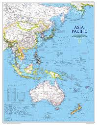 pacific region map pacific map