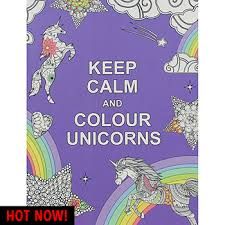 calm colour keep calm and colour unicorns by summersdale books at the works
