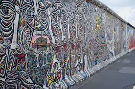 german to protect berlin wall with a fence artnet news a mural on the berlin wall photo jason travel junkies