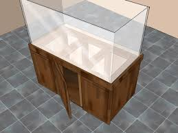 3 ways to build an aquarium stand wikihow